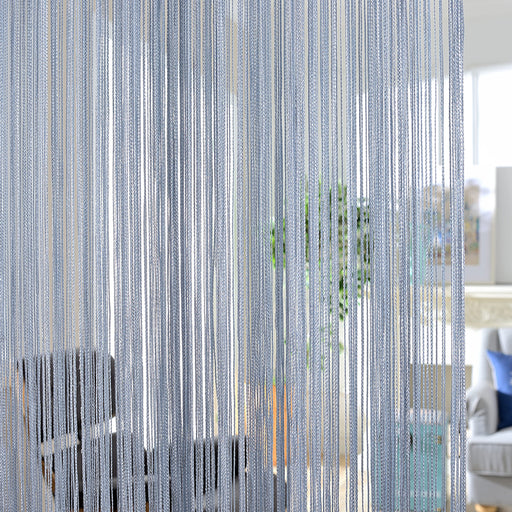Solid Color Stripe Line Curtain - Discountgereation