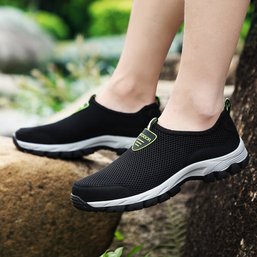 Slip-on Breathable Air Mesh Casual Shoes - Discountgereation