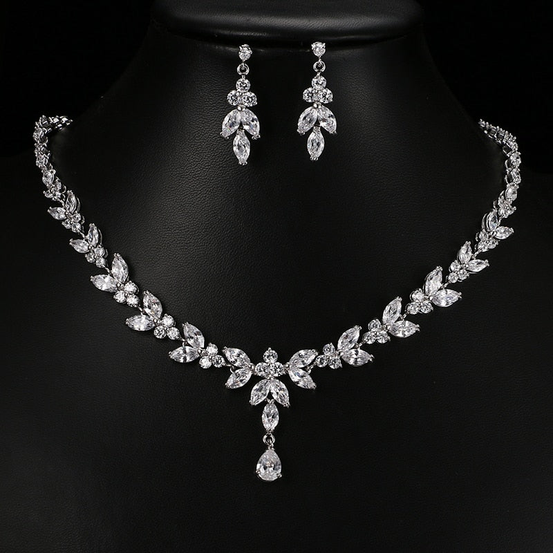 Stud Earrings & Necklace Jewelry Sets - Discountgereation