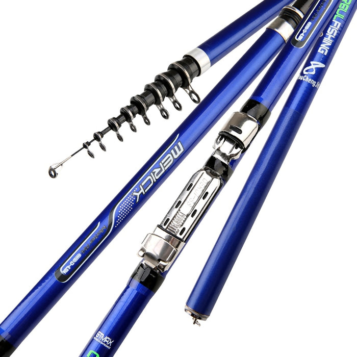 Stainless Steel Ceramic Telescopic Fishing Rod - Discountgereation