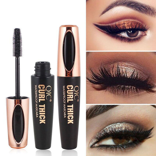 4D Silk Fiber Eyelash Waterproof Mascara - Discountgereation