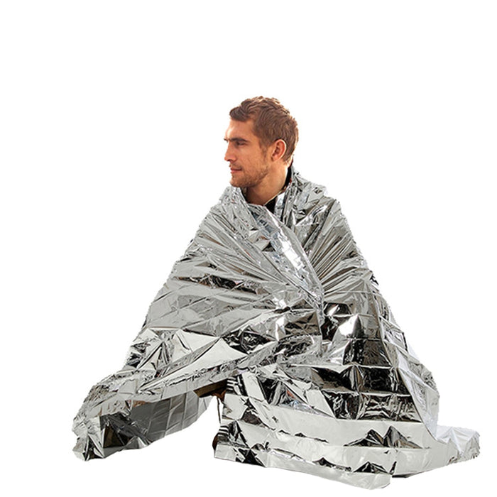 Foil Thermal Space Emergency Blanket - Discountgereation