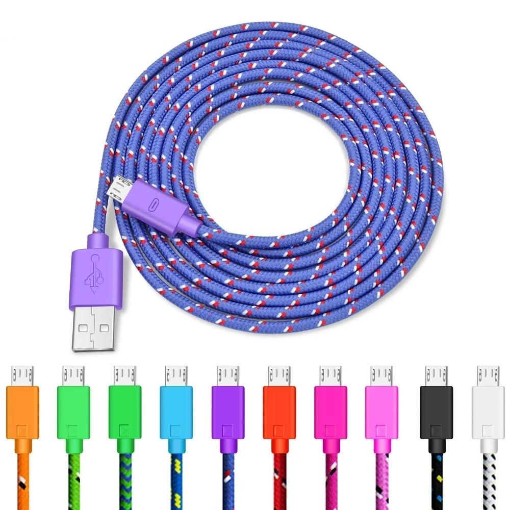 Nylon Braided Micro USB Cable - Discountgereation