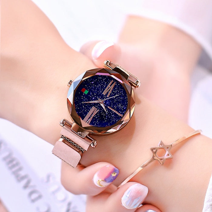 Magnet Buckle Starry Sky Creative Watch - Discountgereation