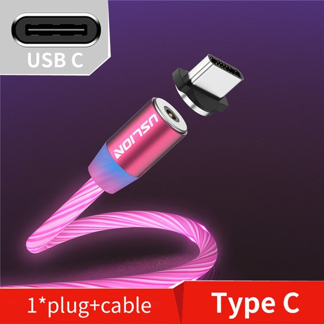 Magnetic LED Light Cable - Discountgereation