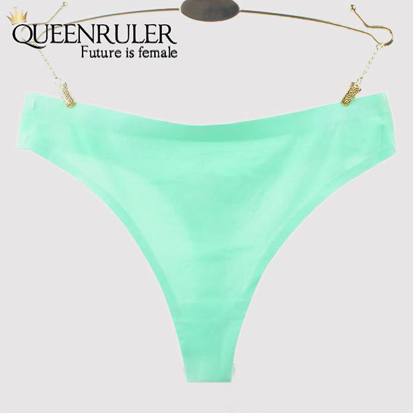 Mermaid Seamless Panties (Green) - Queenruler