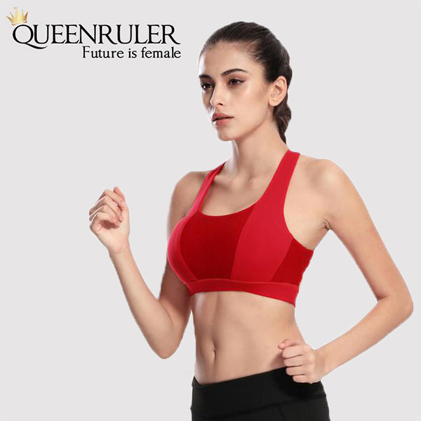 Cross Strap Workout Bra - Queenruler