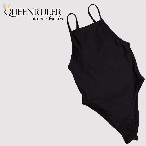 One Piece Vintage Swimsuit - Queenruler