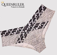 Pink Tire Print Pantie (Gray) - Queenruler