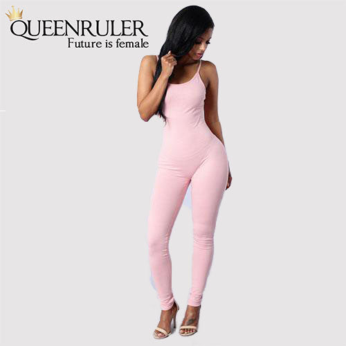 Quick-Dry Athletic Jumpsuit (Pink) - Queenruler