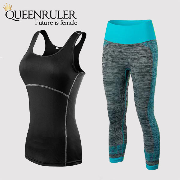 Fitness Yoga Set (Black Blue) - Queenruler