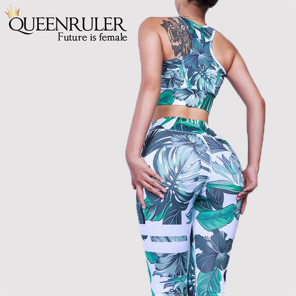 Two Piece Workout Set (Black) - Queenruler
