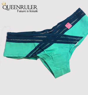 Comfort Cotton Panties (Green) - Queenruler