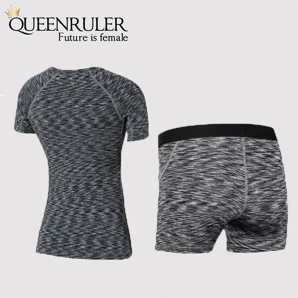 Workout Gym Clothes (Black) - Queenruler