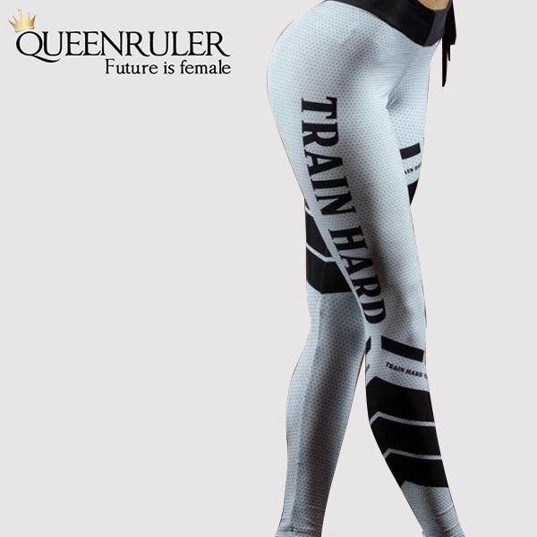 Train Hard Leggings - Queenruler