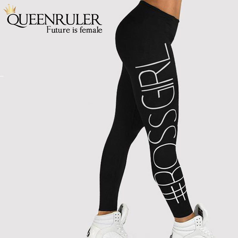 Boss Girl Workout Leggings - Queenruler