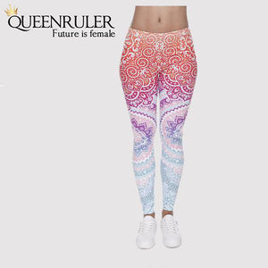 Aztec Women Fitness Leggings | Queensruler