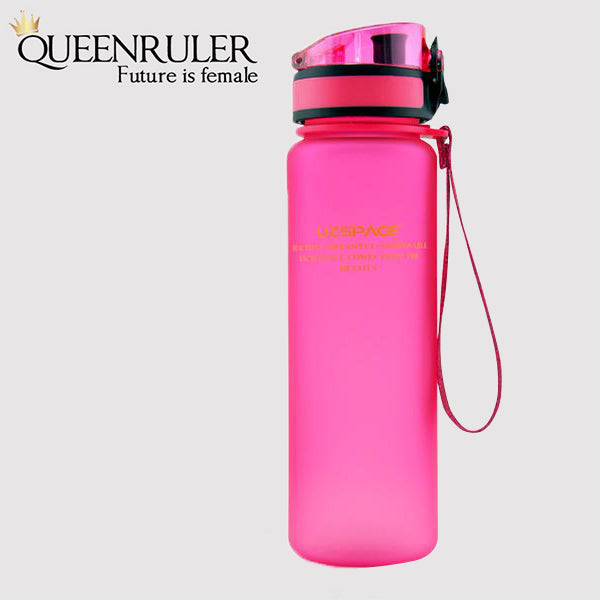 Portable Fitness Bottle (Pink) - Queenruler