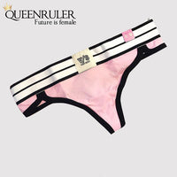 Sexy Thongs Pantie (Pink) - Queenruler