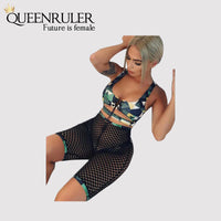 3pcs/Set 2018 Swimwear (Army Green) - Queenruler