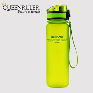 Portable Fitness Bottle (Green) - Queenruler