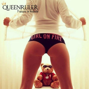 Girl On Fire Pantie - Queenruler