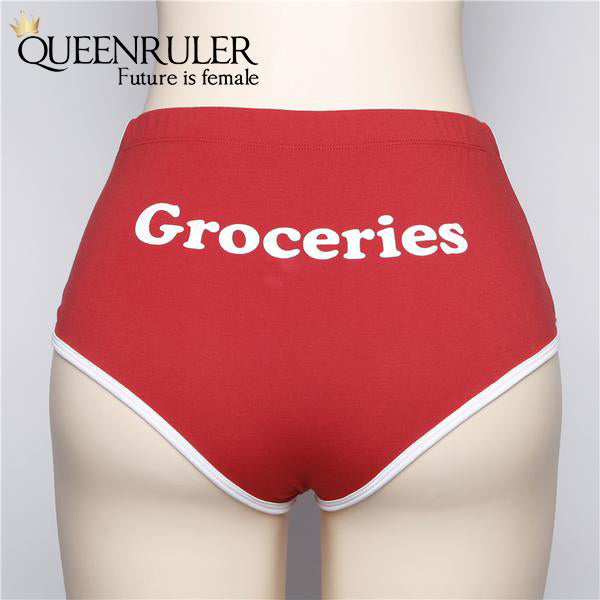 Groceries Design Lingerie (Red) - Queenruler