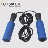Adjustable Jump Rope (Blue) - Queenruler