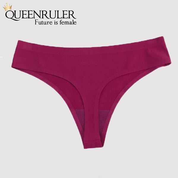 Mermaid Seamless Panties (HotPink) - Queenruler