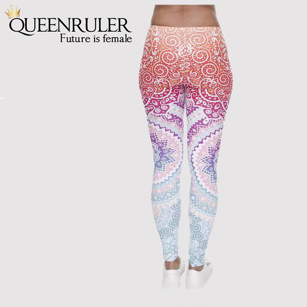 Aztec Women Fitness Leggings - Queenruler