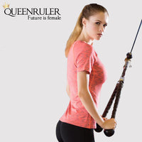 Professional 3 in 1 Yoga Set (Red) - Queenruler