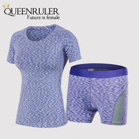 Workout Gym Clothes (Purple) - Queenruler