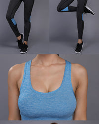 2PC Fitness Outfit (Blue) - Queenruler