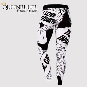 I Love Squats Leggings - Queenruler