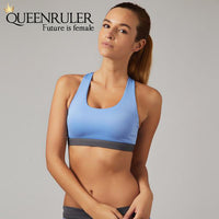 Sexy Cross Sport Bra (1PC Blue) - Queenruler