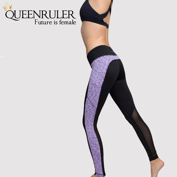 Active Women Fitness Leggings (Purple) | Queensruler