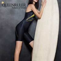 Women Surf Swimwear (Black) - Queenruler
