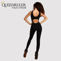 Women Jumpsuit (Black) - Queenruler
