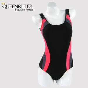 Hot One Piece Swimsuit (Black) - Queenruler