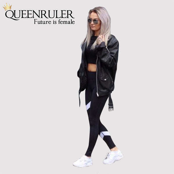 Never Too Late Workout Leggings - Queenruler