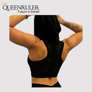 Breathable Athletic Vest (Black) - Queenruler