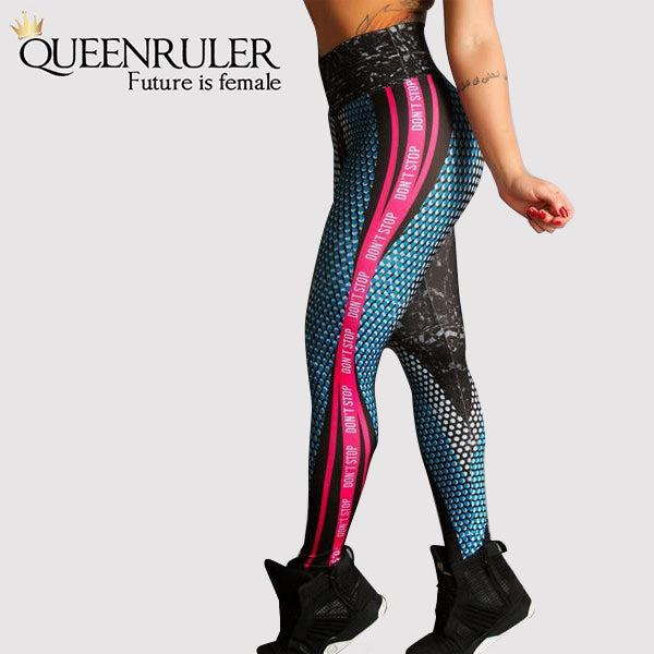 Limited Edition Honeycomb Print Leggings - Queenruler