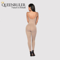 Quick-Dry Athletic Jumpsuit (Khaki) - Queenruler