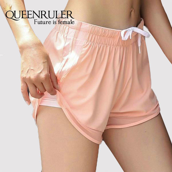 Soft Athletic Shorts (Pink) - Queenruler