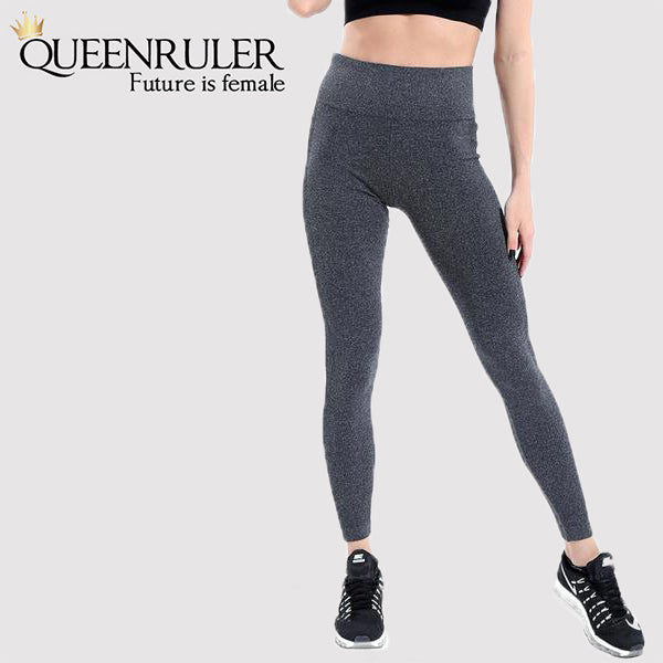 Quick Dry Yoga Pants (Gray) - Queenruler