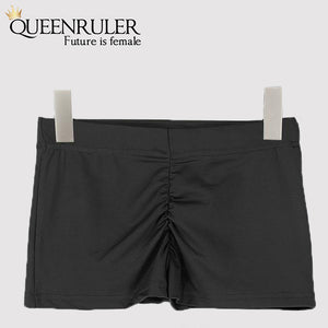 Queenruler Sexy Athletic Shorts (Grey) - Queenruler