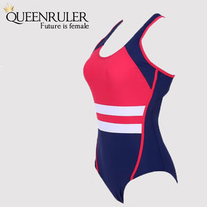 Queenruler One Piece Swimsuit (Red) - Queenruler