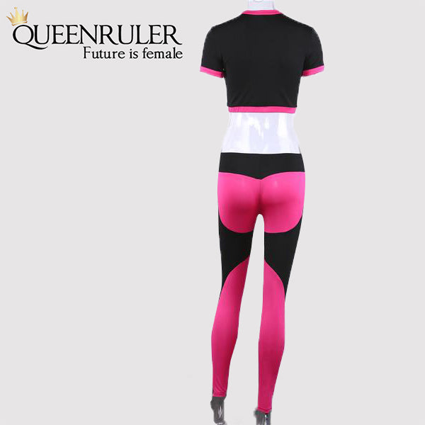 Queenruler Women Tracksuit (pink) - Queenruler