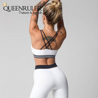 2 Piece Fashion Ribbons Sweatsuit - Queenruler