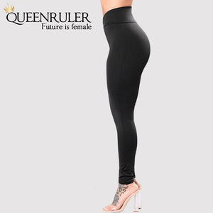 High Elastic Slim Legging - Queenruler